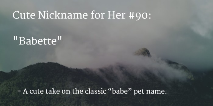 Romantic Cute Names To Call Your Girlfriend May it be a film or a real life, Girls love romantic heroes more than action heroes. Every girl wants her guy to be Mr. Romeo.
