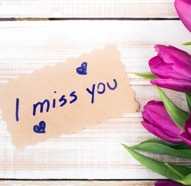 miss you note mobile