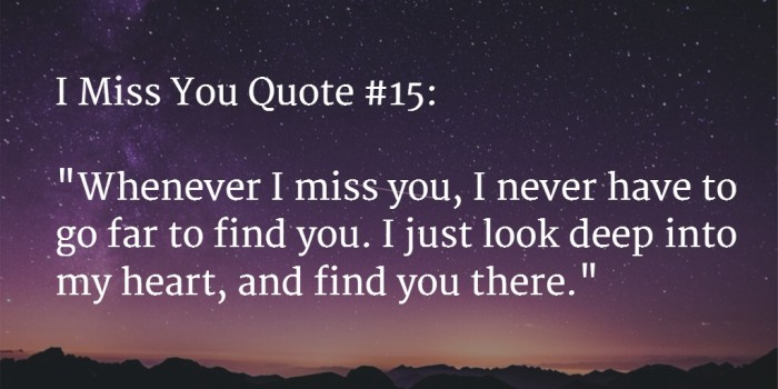 Miss You Quote 1