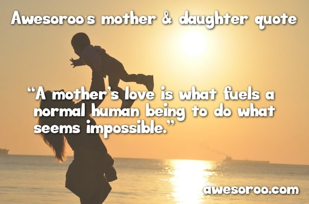 Mother Quote. Daughter ...