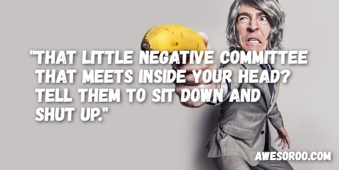 negative committee attitude quote