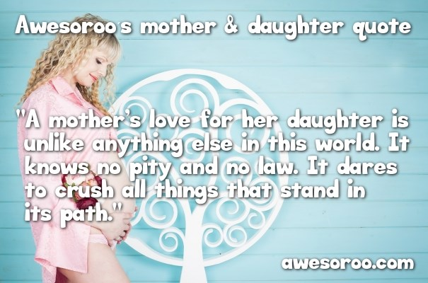 nice mother daughter quote