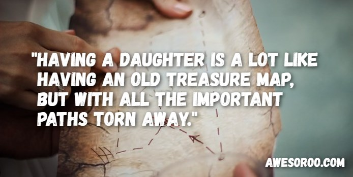 treasure map to daughter