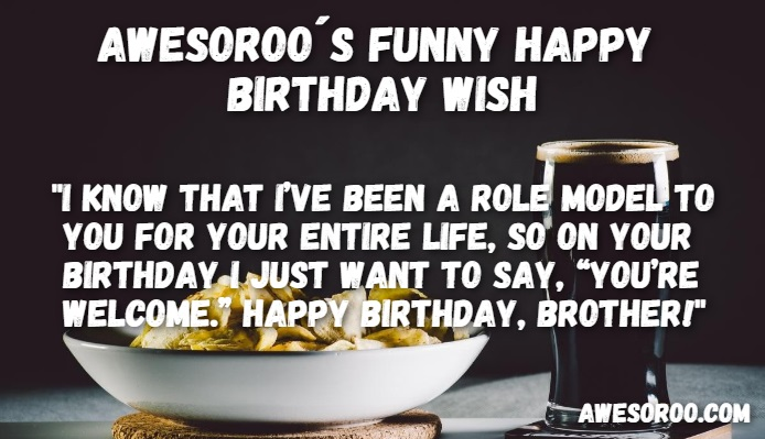 Funny BD Wish For Brother
