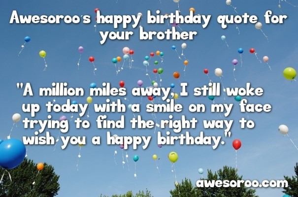317 BEST Happy Birthday Brother Status Quotes Wishes 2019