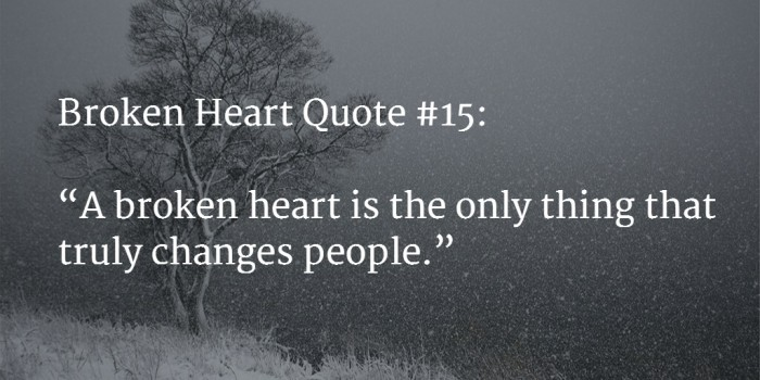 Quotes About Being Broken Hearted Custom 48 [BEST] Broken Heart Quotes With Images Mar 48 UPDATE