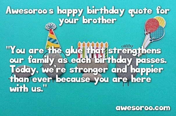 Quotes About Loving Your Brother Unique 180 Best Happy Birthday Brother Status Quotes & Wishes 2017
