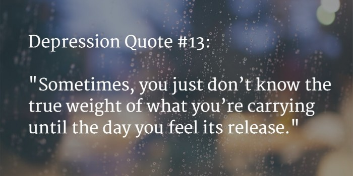 Depression Quote | 110 Best Depression Quotes To Say How Much It Hurts Feb 2018