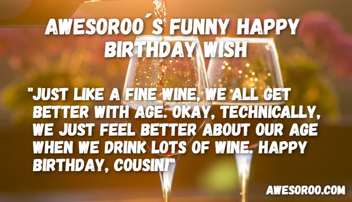 fine wine with a BD wish