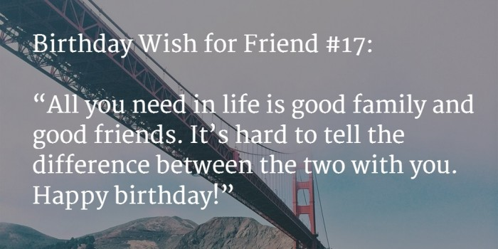 friend birthday wish 1