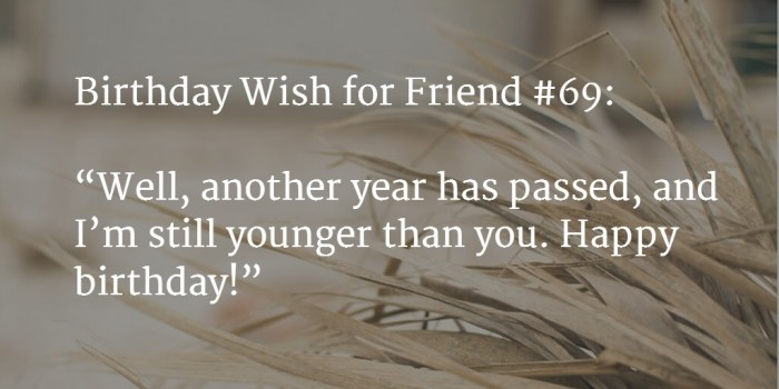 friend birthday wish 5