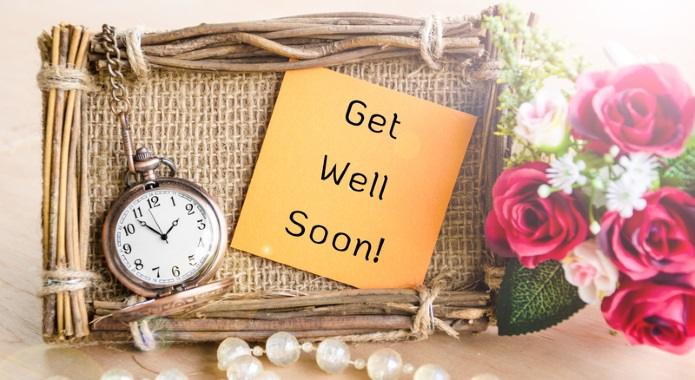 Get Well Soon Text Desktop