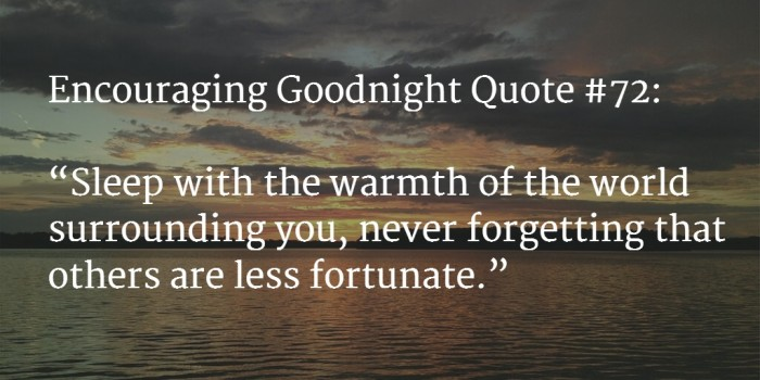 goodnight encouraging words 5