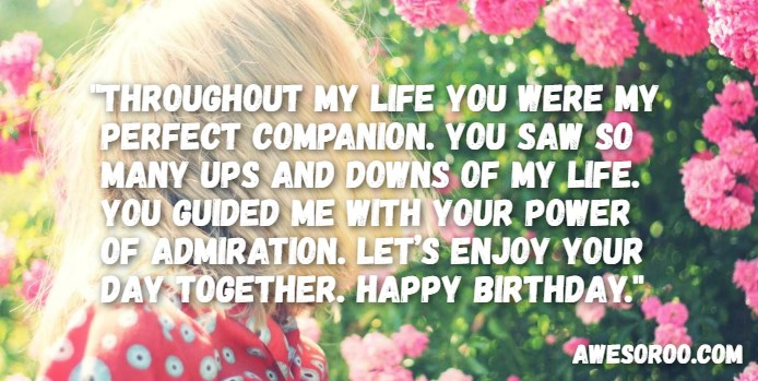 Best happy birthday sister status quotes wishes