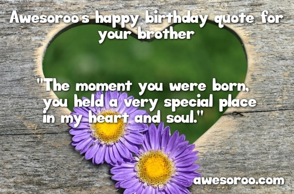 lovely birthday quote