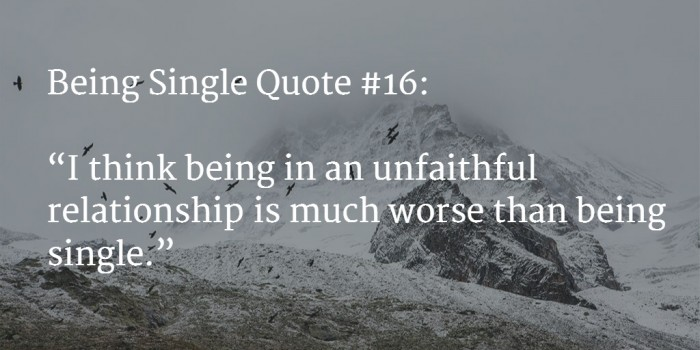 quote about being single 1