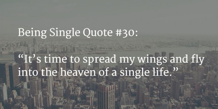 quote about being single 2