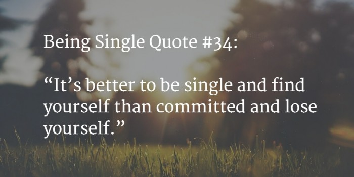 quote about being single 3