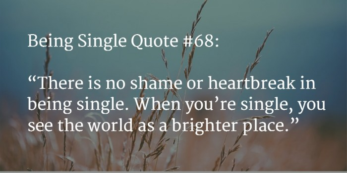 quote about being single 5