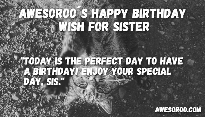 sister birthday quote