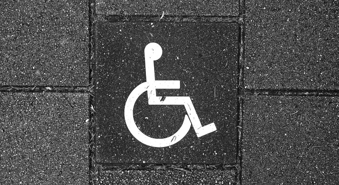 wheelchair logo desktop
