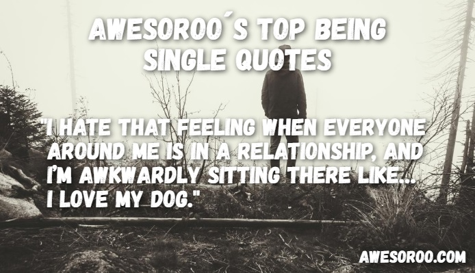 amazing being single quote