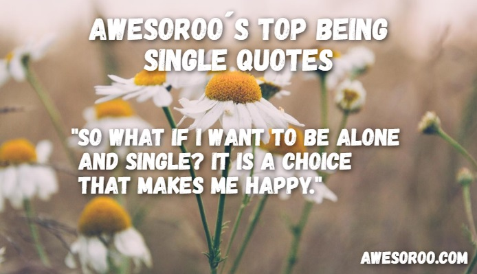cute being single quote