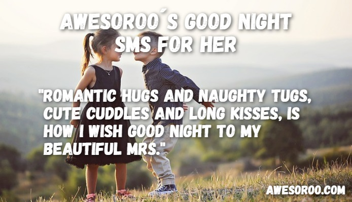 Naughty Wife Quotes Inspiration 190 Really Cute Good Night Text Messages For Her Nov2017