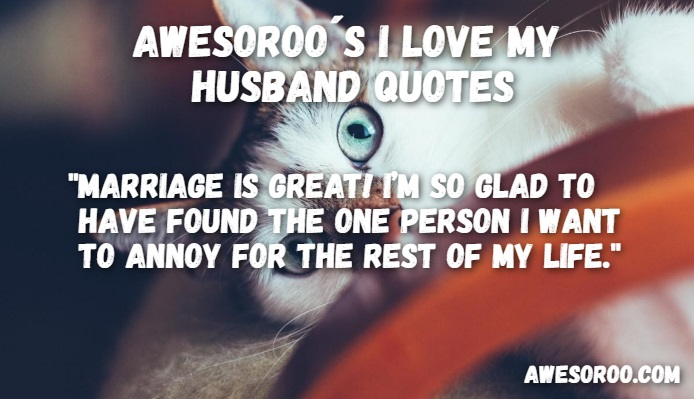 funny love quote for husband