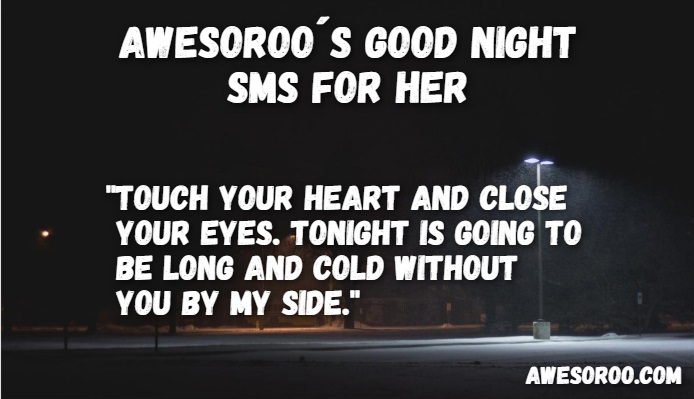 good night image with sms