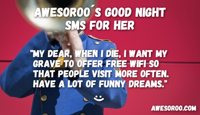 hilarious good night wish