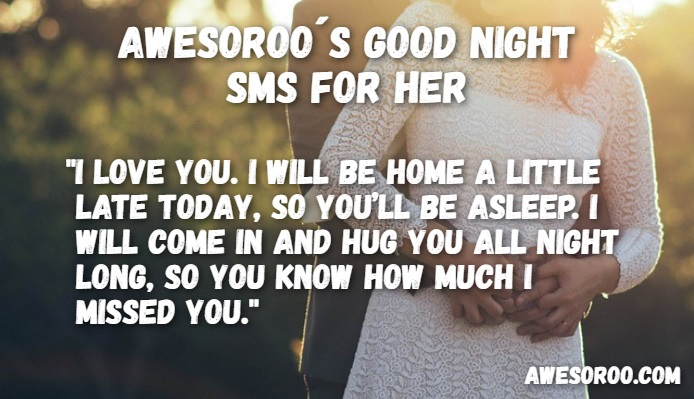night sms for wife