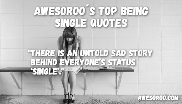 Sad being single