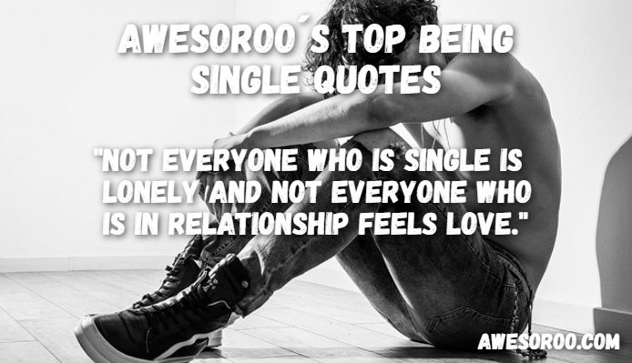 single guy quote