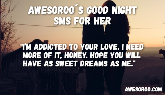 sweet message for her