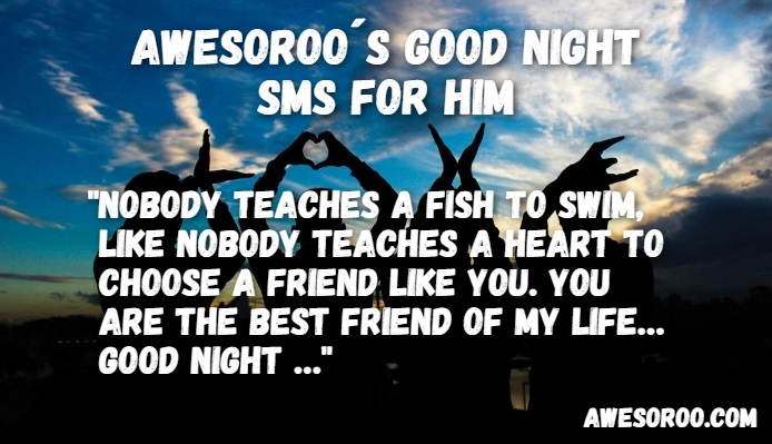 goodnight sms for him 10