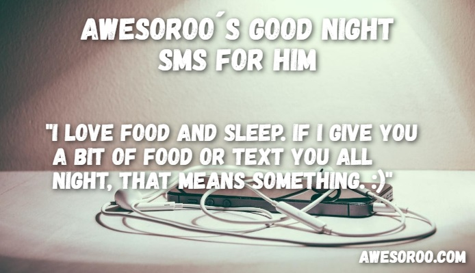 goodnight sms for him 11