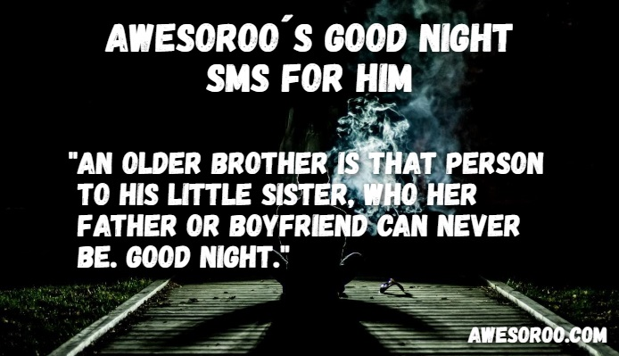 goodnight sms for him 13
