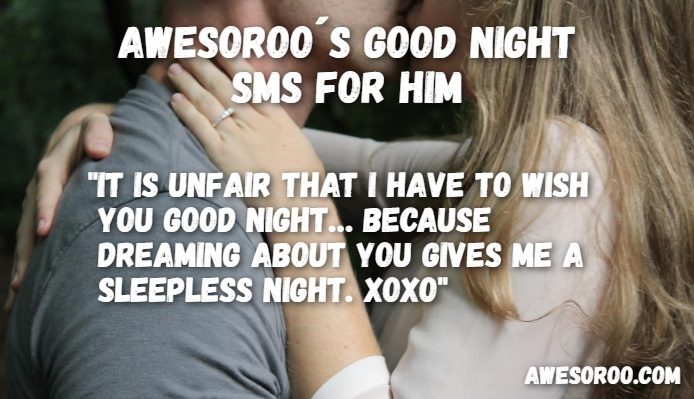 goodnight sms for him 17