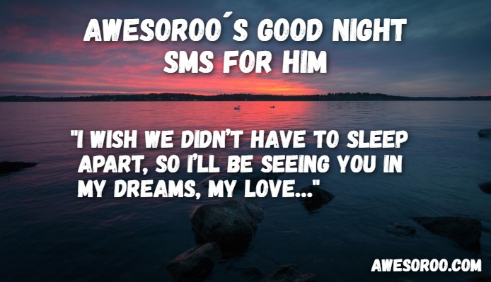 goodnight sms for him 3