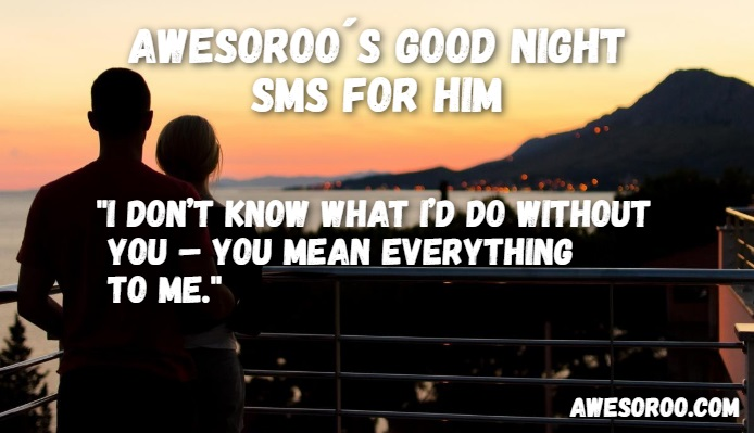 goodnight sms for him 4
