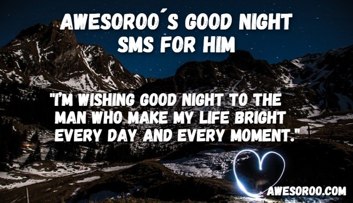 goodnight sms for him 7