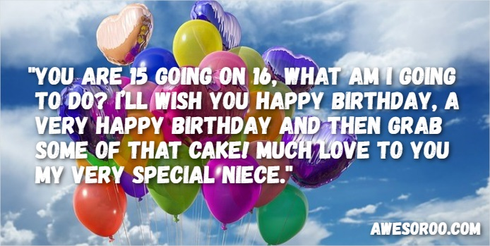 400 Best Happy Birthday Niece Wishes Quotes Images Nov 2017 Happy Sixteenth Birthday Wishes