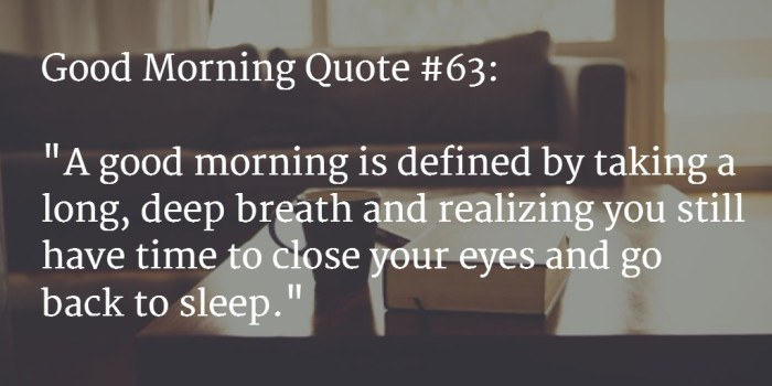 good morning quote 5