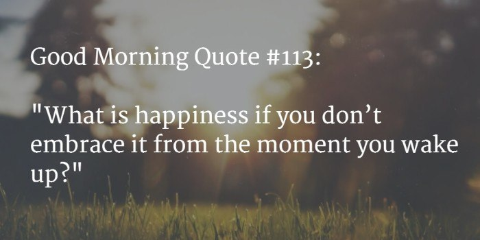 good morning quote 8