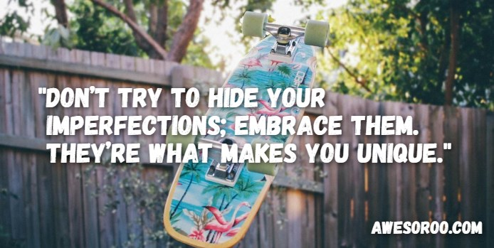 immperfections attitude quote