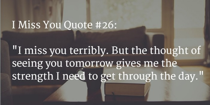 miss you quote 2