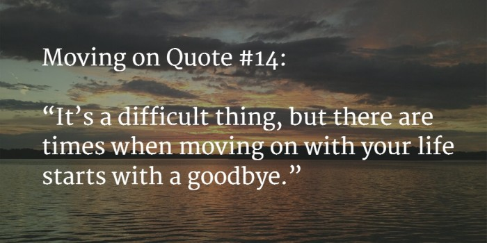 moving on quote 1