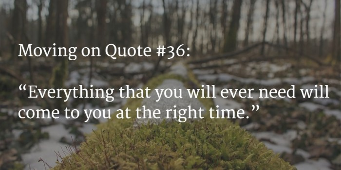 moving on quote 3