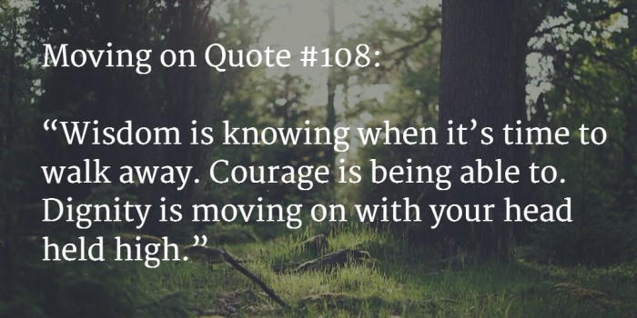 moving on quote 7